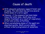 cause of death23