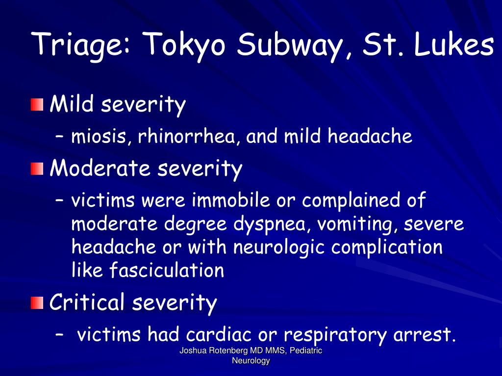 Triage: Tokyo Subway, St. Lukes