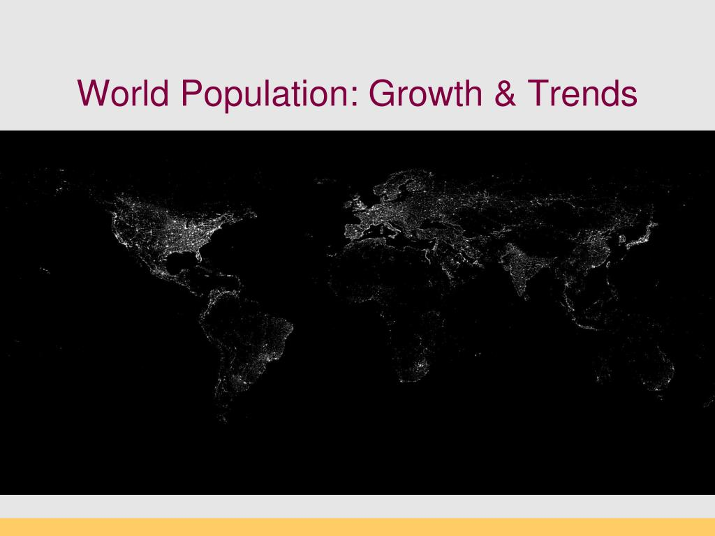 world population growth trends l.