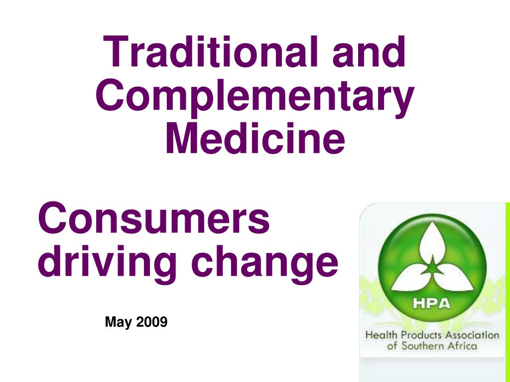 traditional and complementary medicine l.