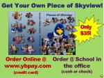 get your own piece of skyview