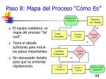 paso 8 mapa del proceso c mo es