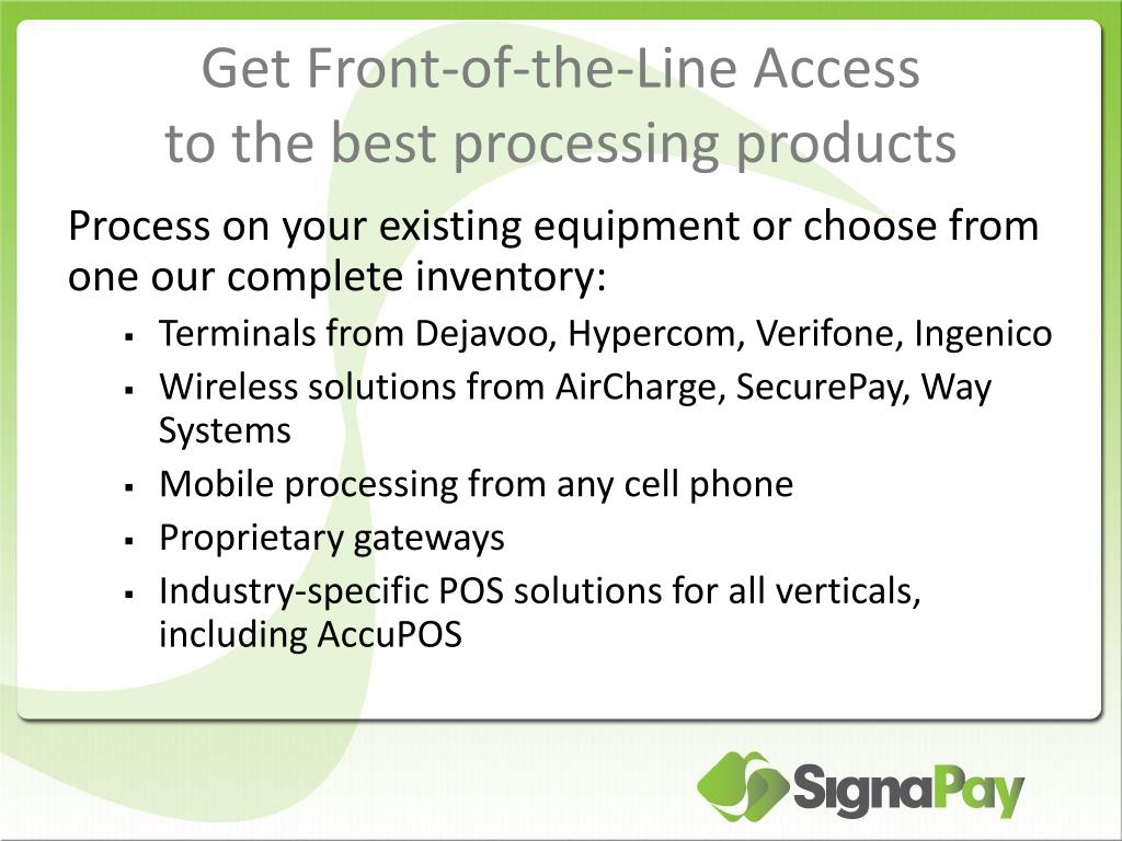 Get Front-of-the-Line Access
