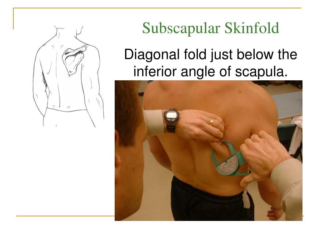 Subscapular Skinfold