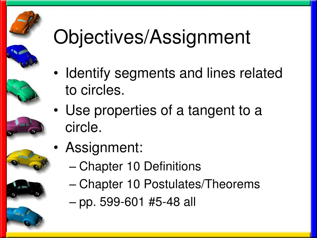 PPT - 10 1 Tangents to Circles PowerPoint Presentation - ID:228355