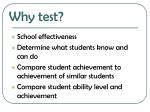 why test