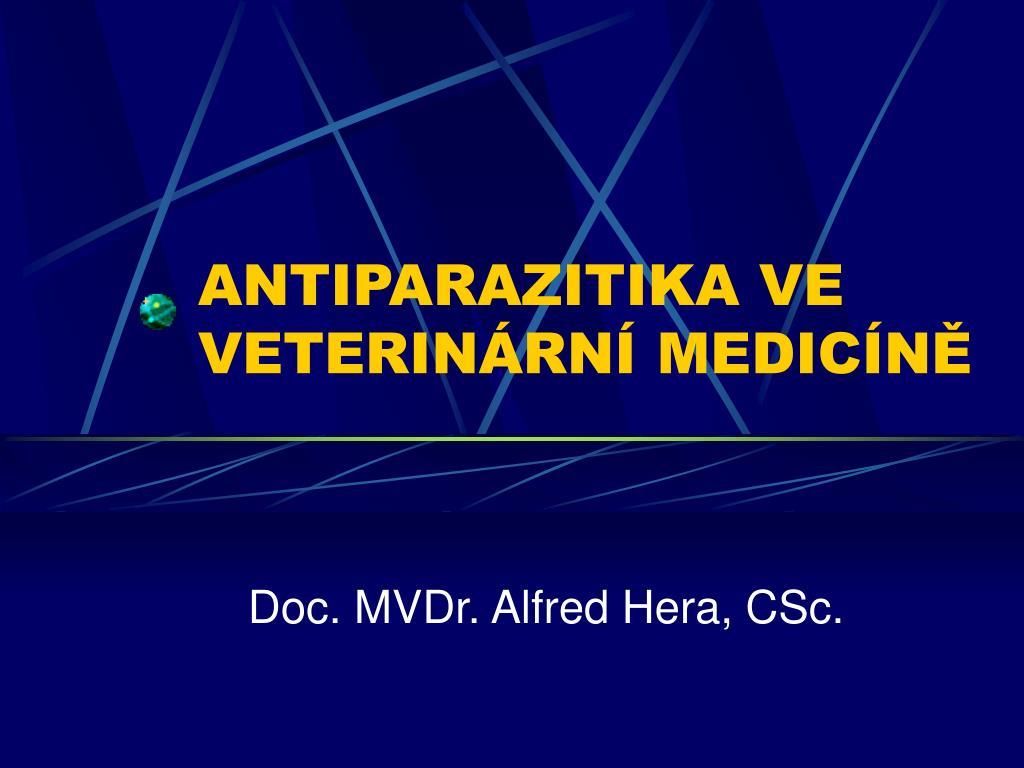 antiparazitika ve veterin rn medic n l.