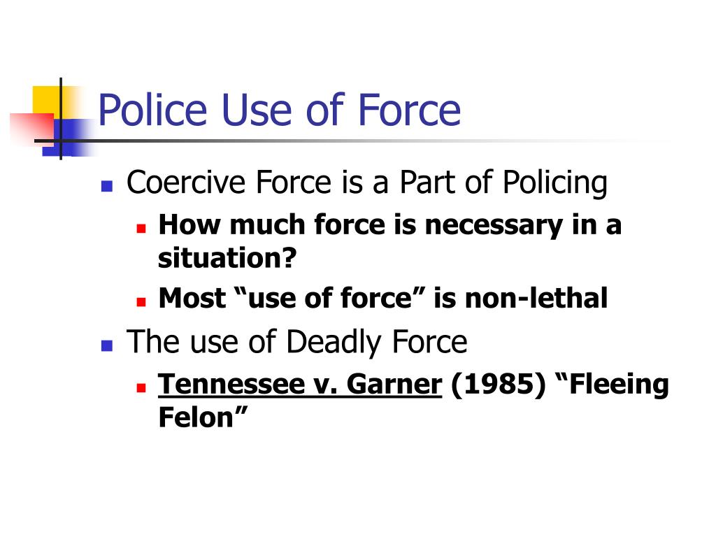 use of deadly force tennessee v