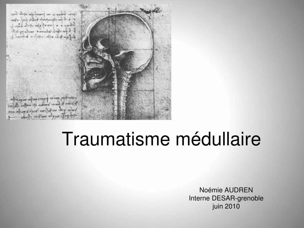 traumatisme m dullaire l.