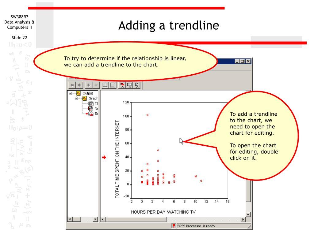 Adding a trendline