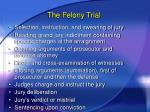 the felony trial