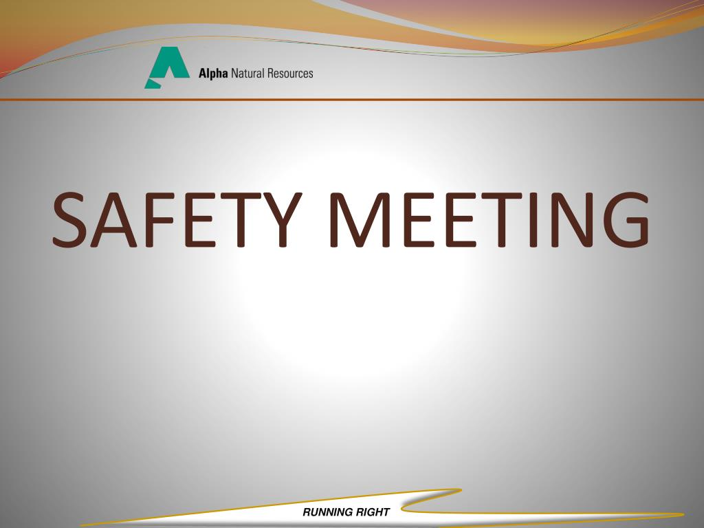 safety meeting l.