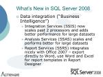 what s new in sql server 200810