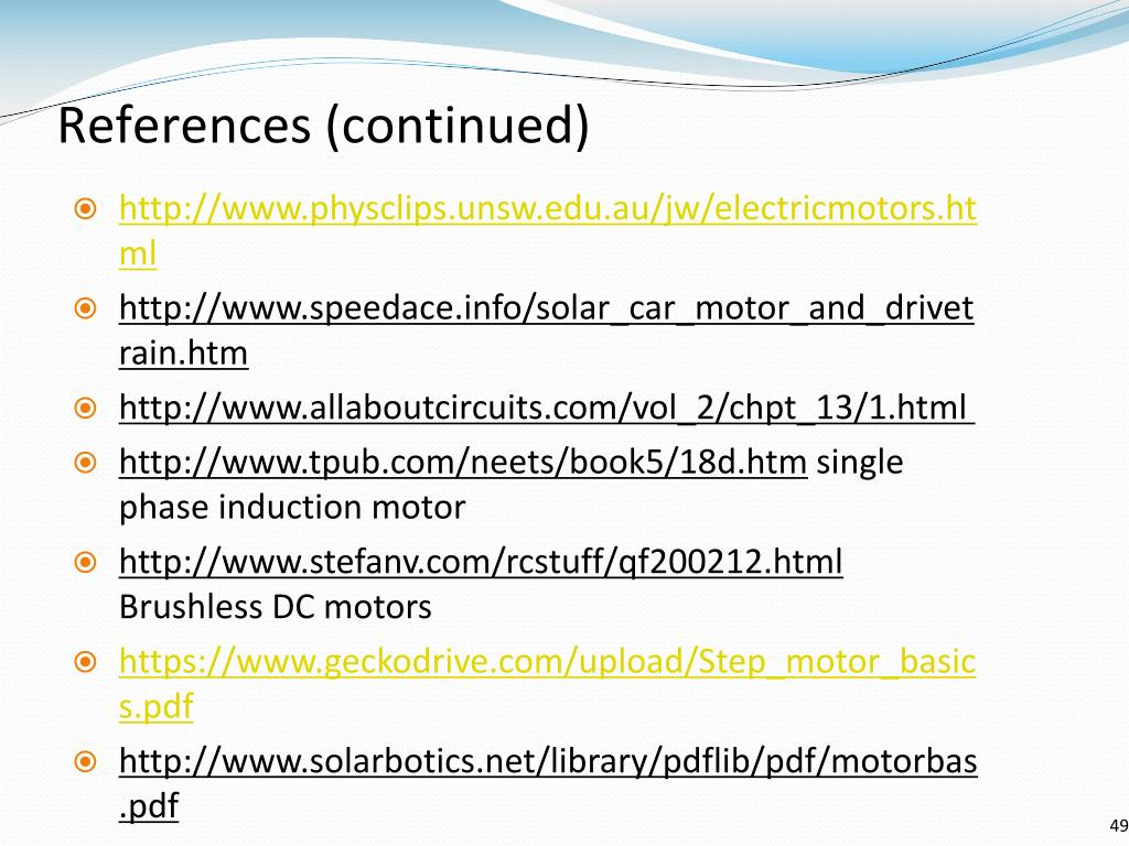 PPT - Motors PowerPoint Presentation - ID:228431
