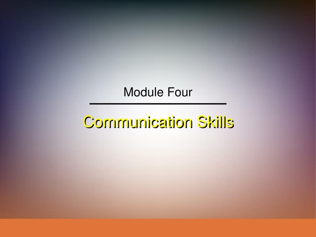 communication skills l.
