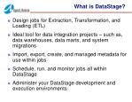 what is datastage