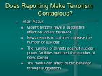 does reporting make terrorism contagious28