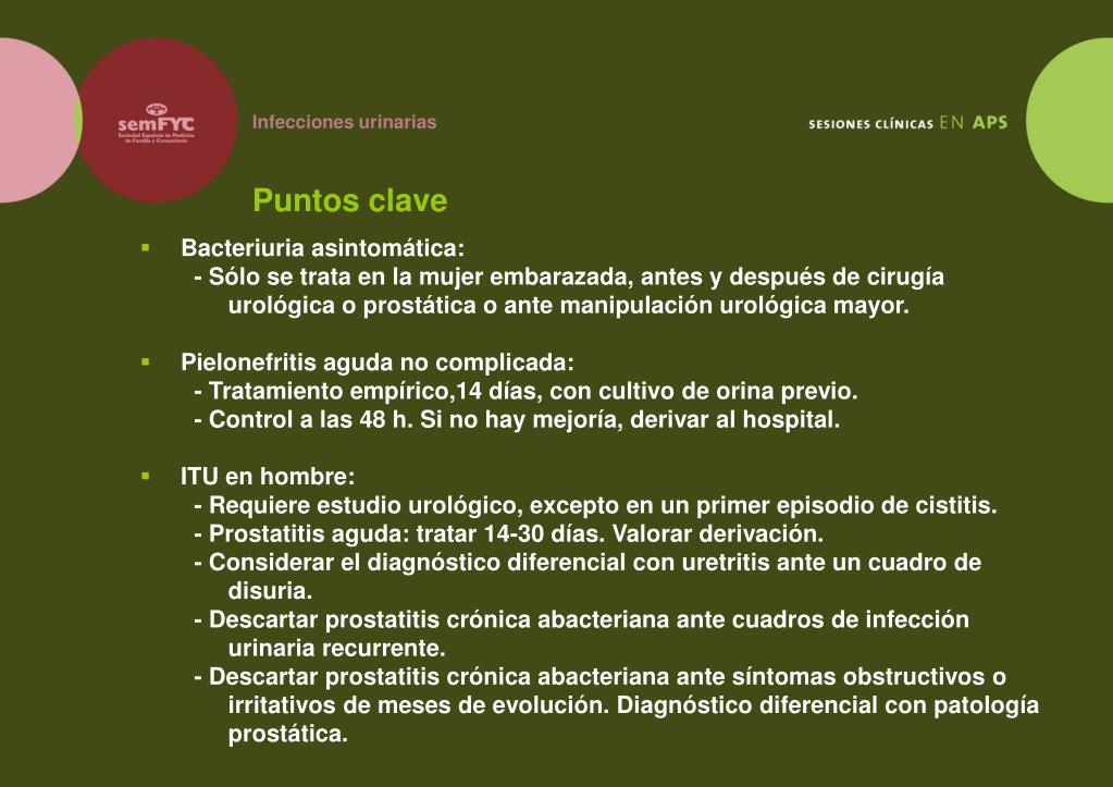 prostatitis recurrente