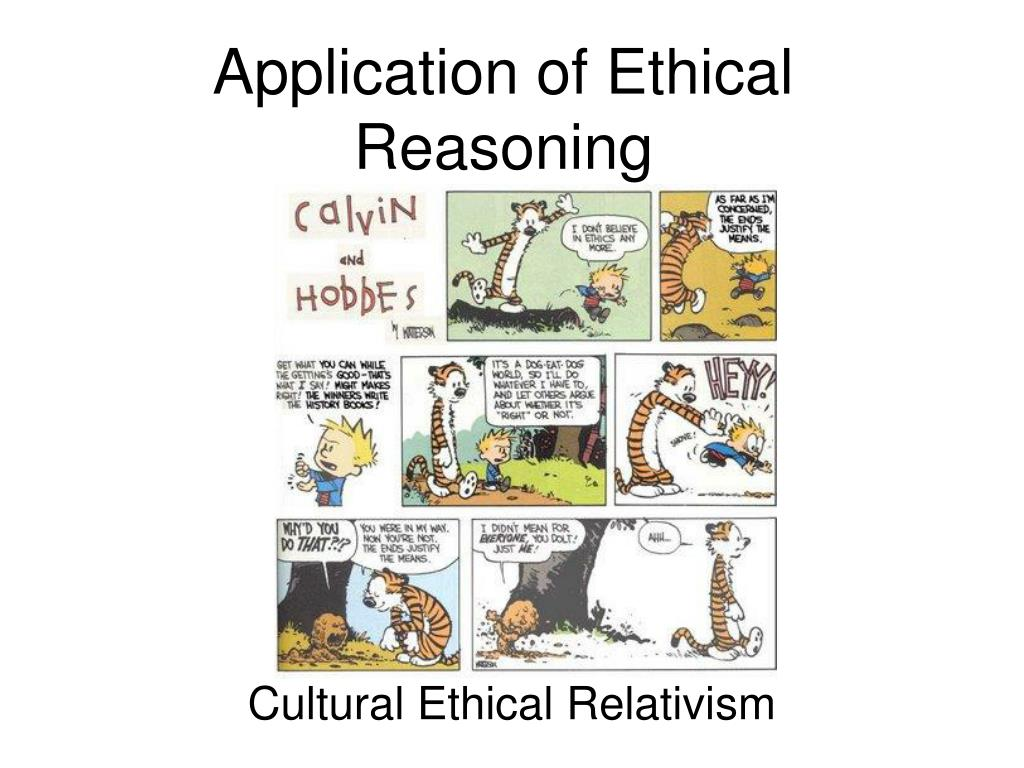 application of ethical reasoning l.