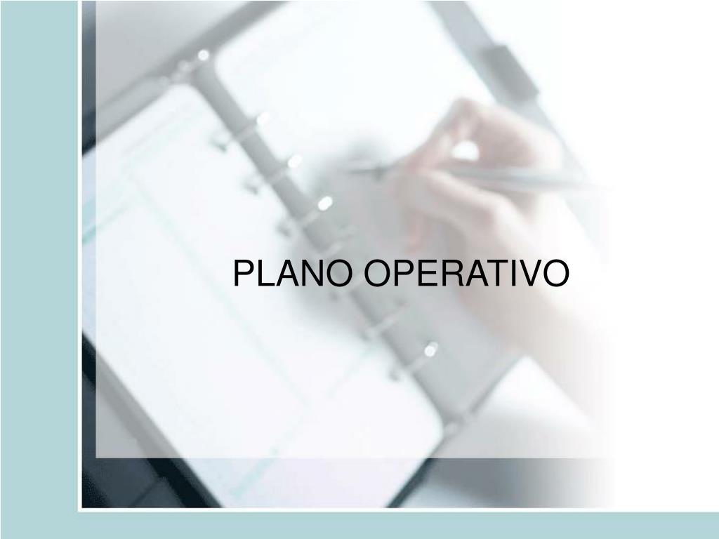 plano operativo l.
