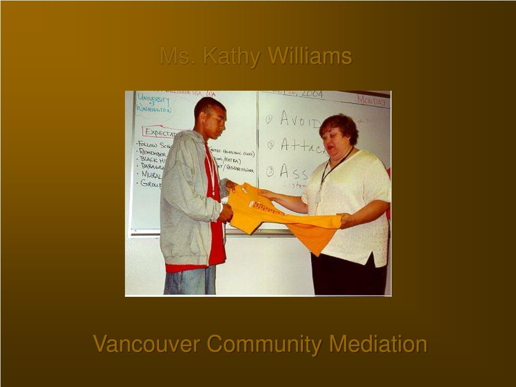 Ms. Kathy Williams