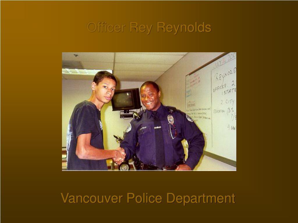 Officer Rey Reynolds