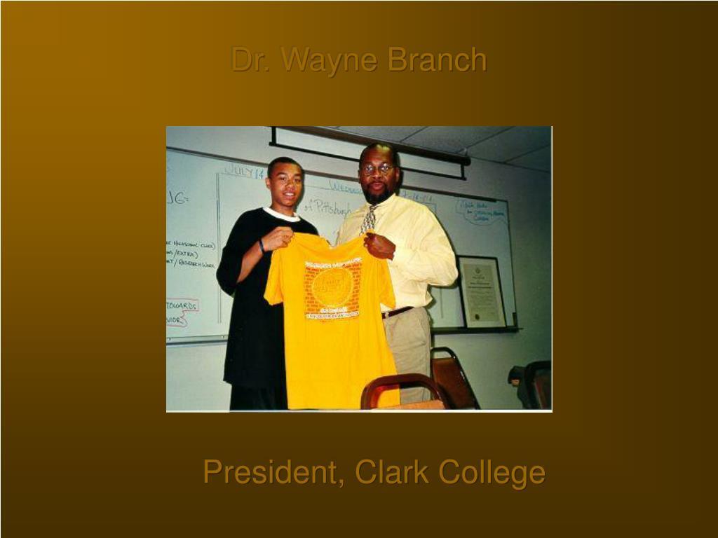 Dr. Wayne Branch