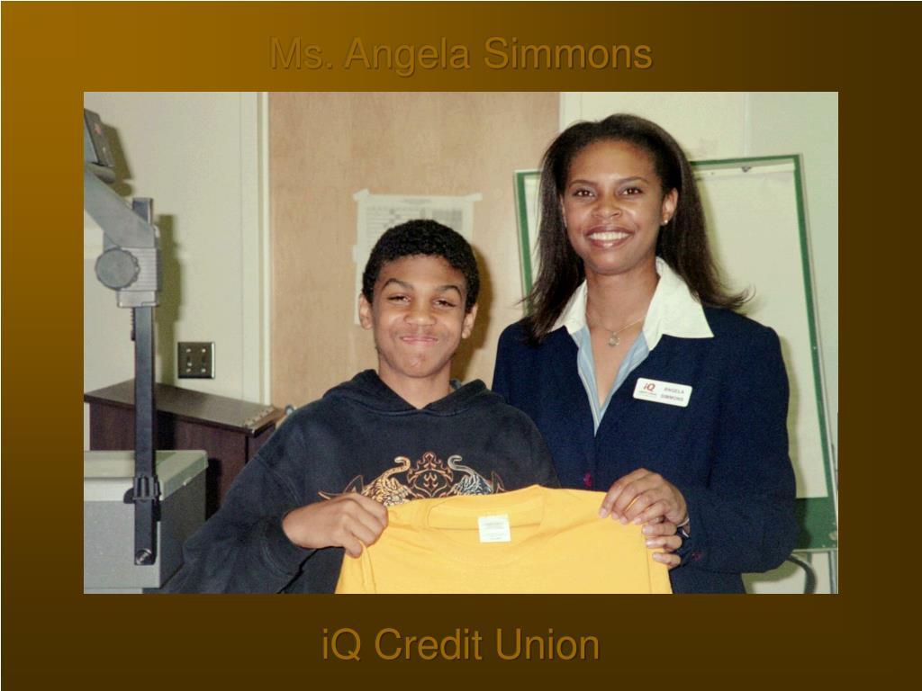 Ms. Angela Simmons