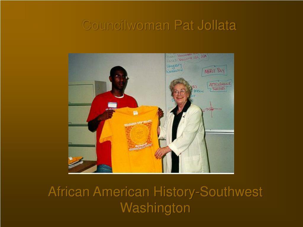 Councilwoman Pat Jollata