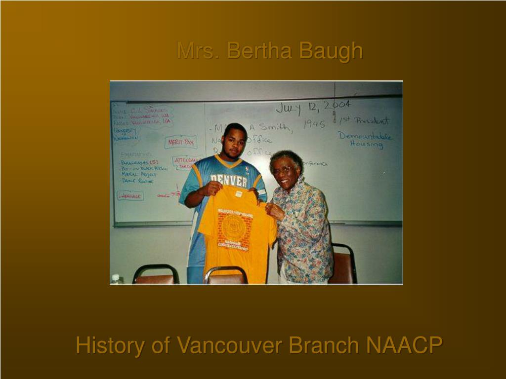 Mrs. Bertha Baugh