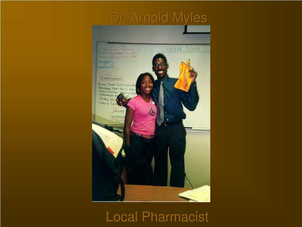 Dr. Arnold Myles