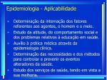 epidemiologia aplicabilidade25