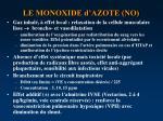 le monoxide d azote no