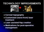 technology improvements