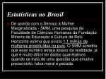 estat sticas no brasil