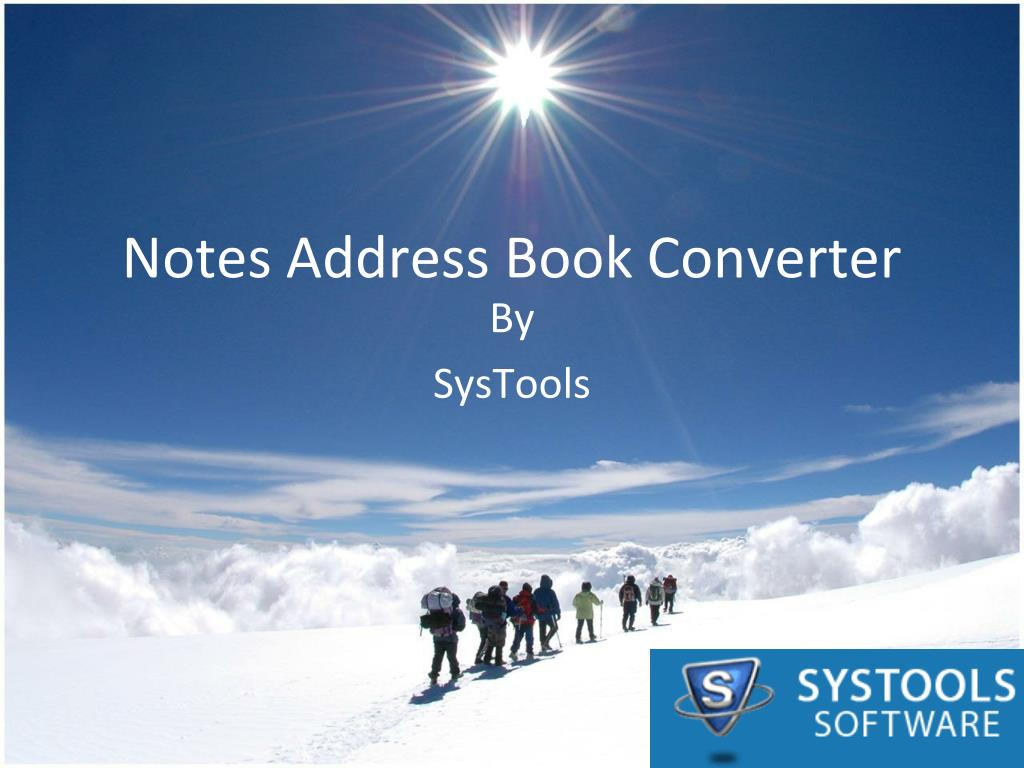 notes address book converter l.