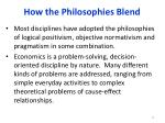how the philosophies blend