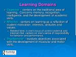 learning domains