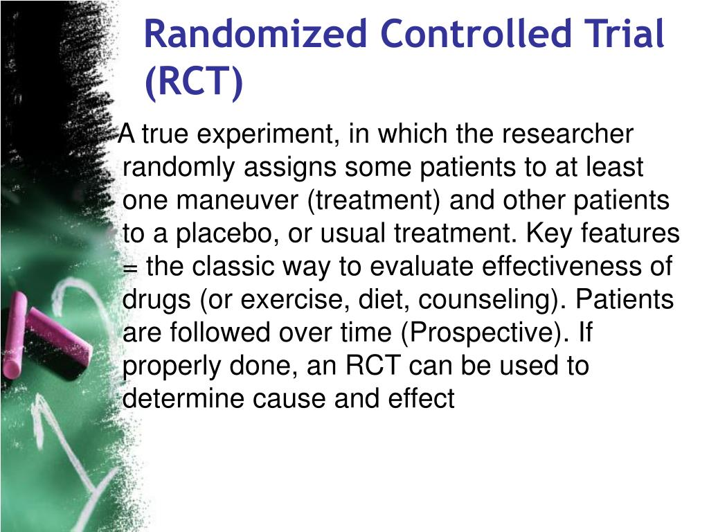 Randomized Controlled Trial (RCT)