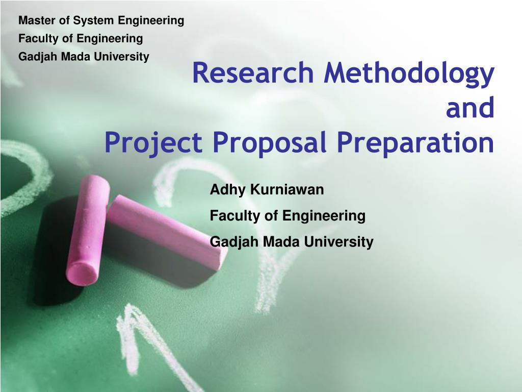 research methodology and project proposal preparation l.