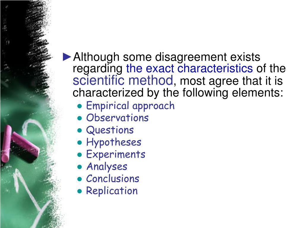 Although some disagreement exists regarding