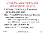 dnssec data integrity and authentication for dns