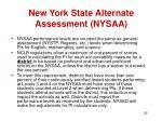 new york state alternate assessment nysaa