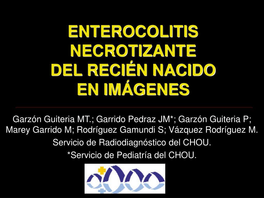 enterocolitis necrotizante del reci n nacido en im genes l.