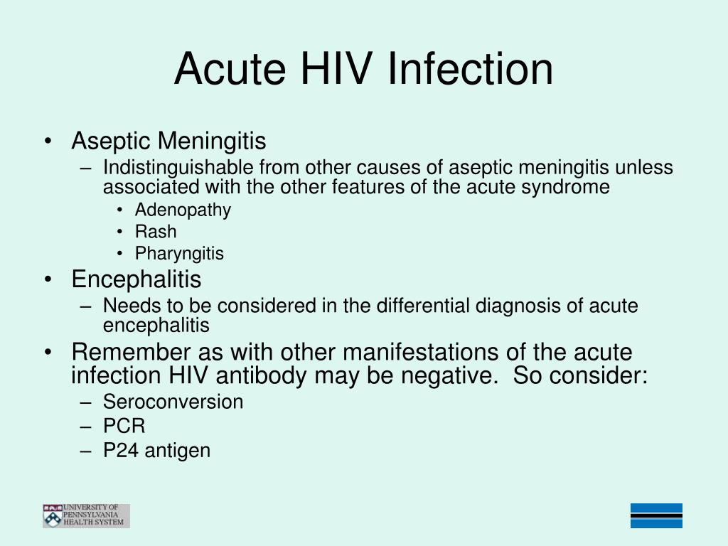 PPT - HIV Infection and the CNS PowerPoint Presentation - ID:228728