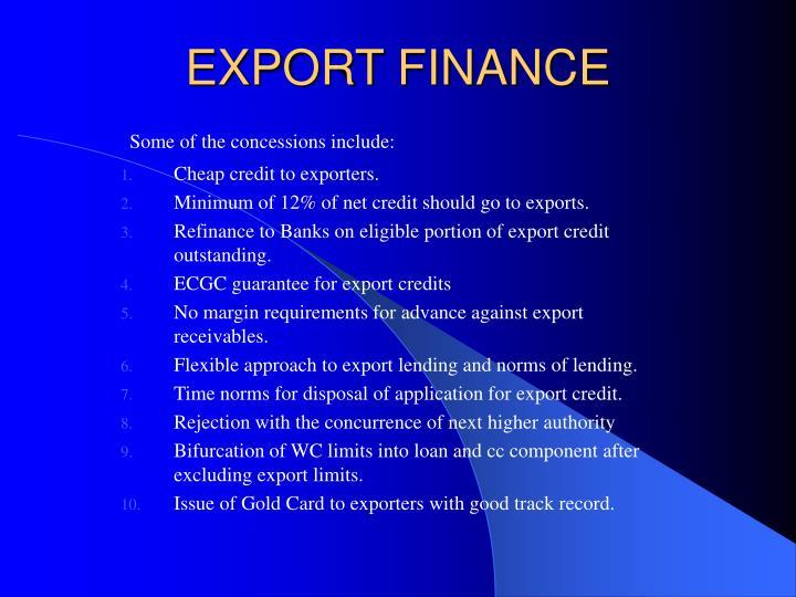 Export finance3