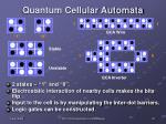 quantum cellular automata
