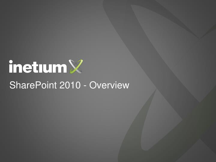 sharepoint 2010 overview n.