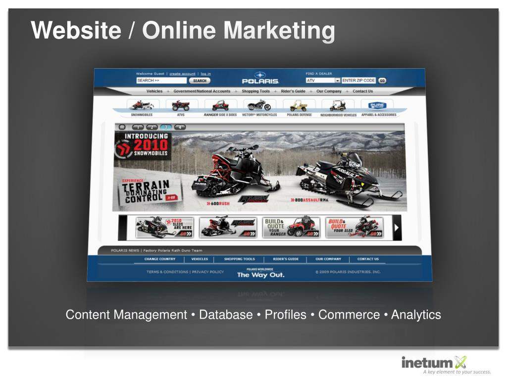Website / Online Marketing