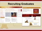 recruiting graduates